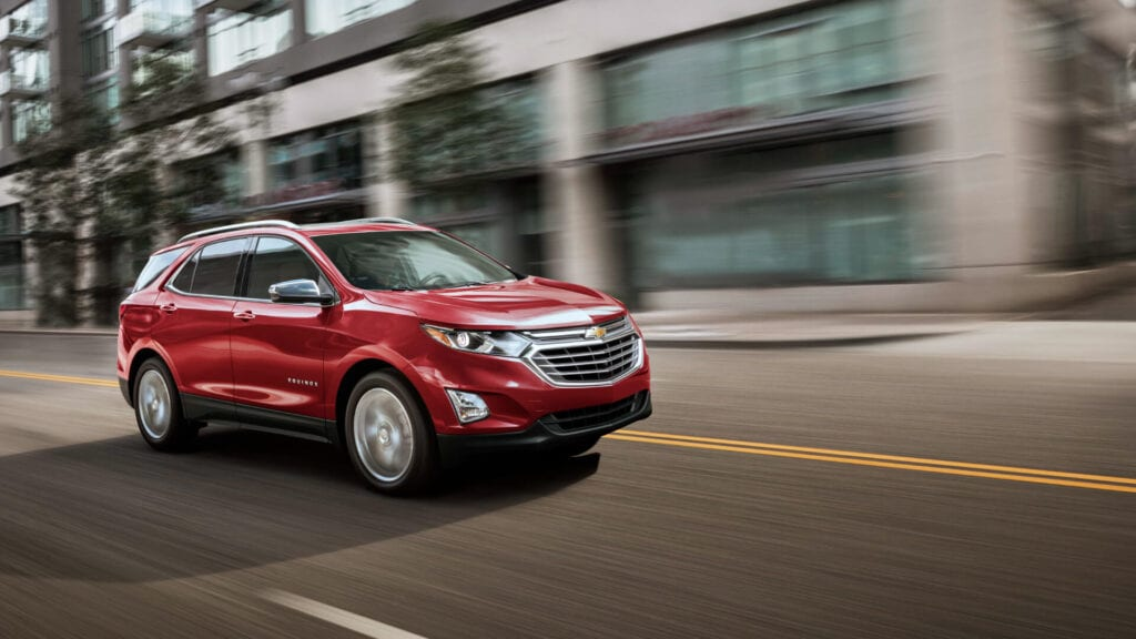 Estrenar una SUV Chevrolet